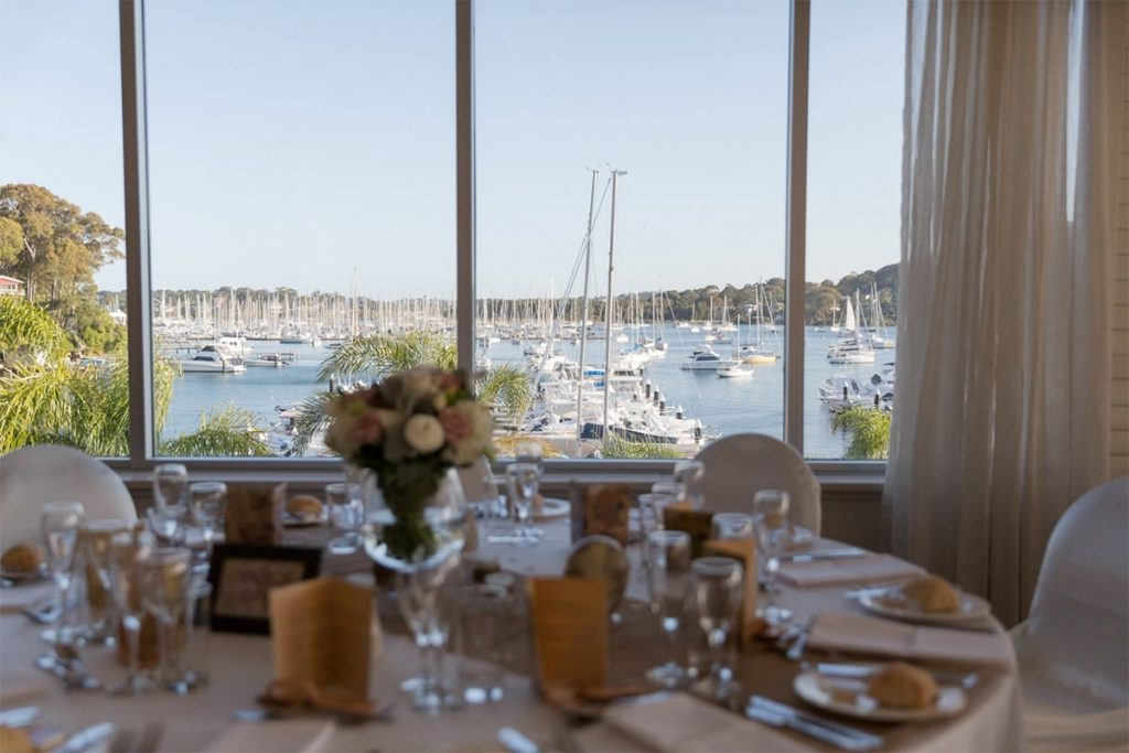Northern Beaches Wedding Venue - Royal Motor Yacht Club Broken Bay